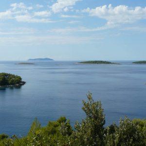 Islets near Karbuni island of Korcula